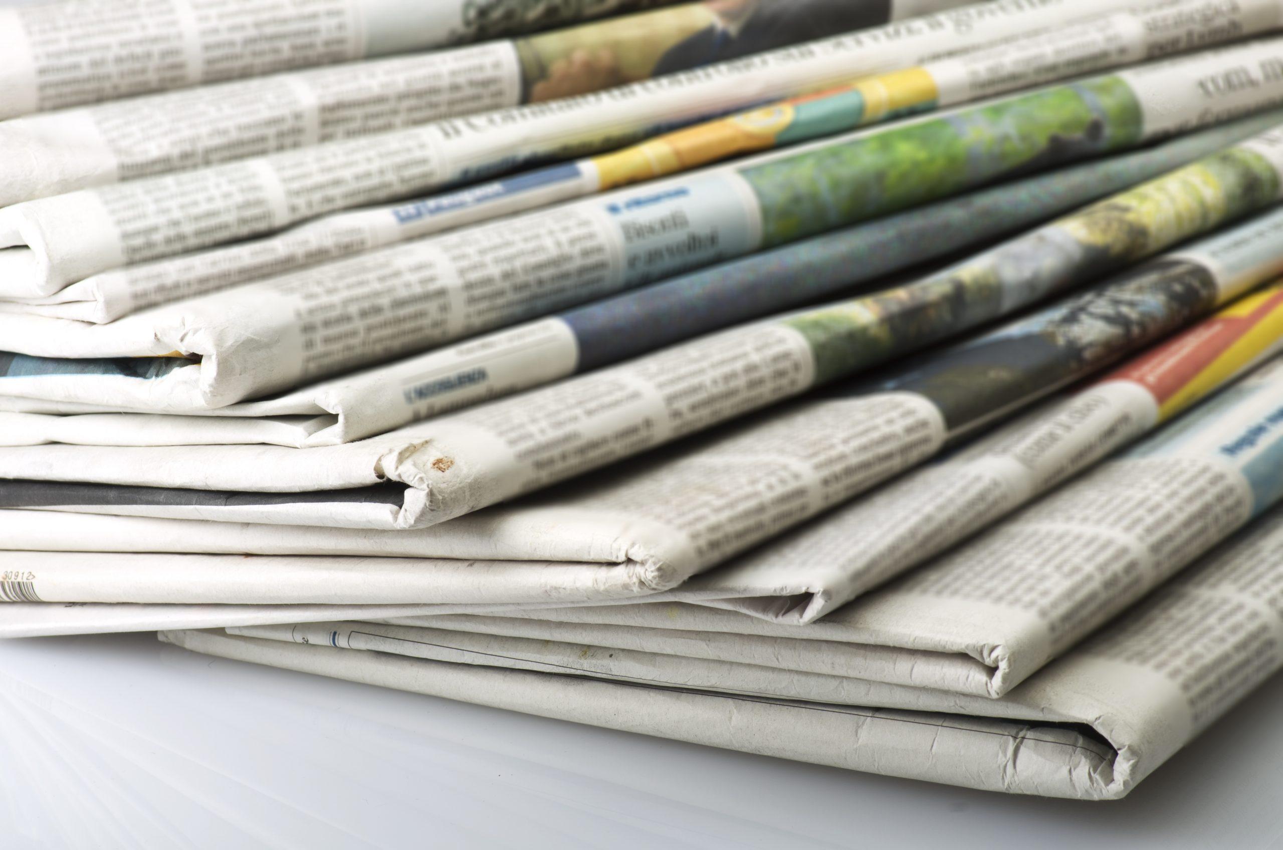 新聞事業の写真